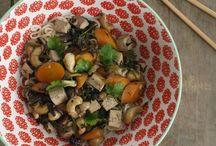 Food (seitan, tofu and tempeh)