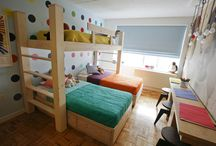 Three kids bedrooms