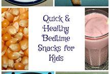 Food: breakfast, snacks