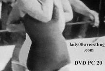retro girl wrestling of the 50s