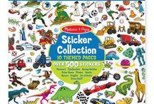 Sticker Collecting