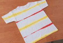 Aprende a hacer Tie Dye / Junto en el Caballito descubre cómo hacer diferentes tipos de Tie Dye en tu ropa.