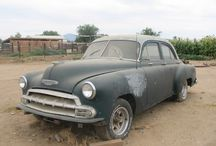 Classic Cars 1952 Chevy Styline 4 Doors - Restoration Project - For Sale / I do this because I want to challenge myself and tell myself I can do anything if I stay focus and put my heart and head into it - teaching myself mind over matter - They are for sale when I finishing restore them