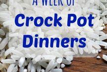 Crockpot Meals / by Kelley Wiggins