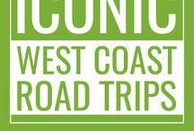west coast roadtrip.