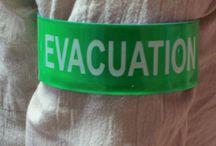 Brassards / Brassard secouristes, brassard sécurité et évacuation