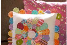 Patchwork cushion ideas