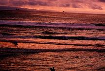 Sunsets in Huntington Beach