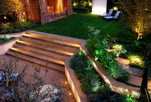 Garden design and terraces