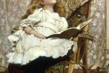 Чтение в живописи