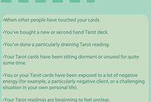 Spiritual: Tarot / Tarot tips, tricks and guides.