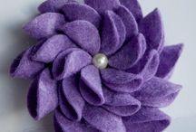 vilt bloemen