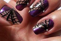 Best Spider Web Nail Art Designs