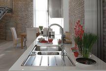 Cocinas que inspiran / Franke Kitchen System: Ambientes de cocinas con las últimas tendencias en fregaderos, grifos, campanas extractoras, hornos, cocción.