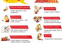 I love Spanish / todo lo que tiene que ver con mi querida Espanya