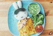 Comidas ARTE por Samantha lee / Tal y como dice esta artista malasina.. ¡Yo cocino, yo fotografío, los niños comen!