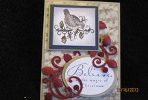 My Card Creations / this board is for my own card creations that I have made.  I am pleased to share this with fellow crafters and hope that my cards inspire you to create too.