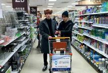 Jin and Jimin