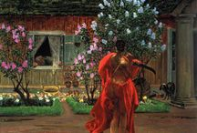 Jacek Malczewski / One of the most revered painters of Poland.  He is regarded as father of Polish Symbolism.