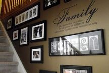 Wall decoration with pics
