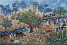 Tapestries for Recently Sold / A selection of Ramses Wissa Wassef tapestries sold during the last three years