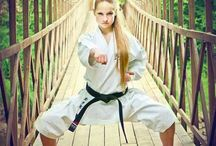 karate girls