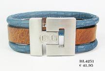 B&L leather handgemaakte armbanden voor hem & haar... / handgemaakte armbanden van B&L leather voor heren en dames bij www.blingdings.nl.