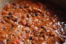 Chili and sauces