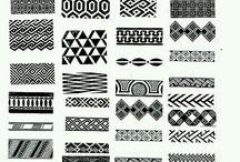 Afrikanische Muster