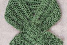 Crochet scarfs / by Laura Hubbell