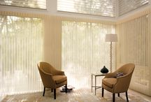 Vertical Blinds - Vertical Panels - Sheer Too! / Vertical blinds and vertical panels are window treatment ideas that work for wide window spaces including french doors and sliding glass doors.They come in a variety of textures, colors and styles in aluminum, vinyl and fabric. Geometric patterns, wood grains and smooth metal finishes.