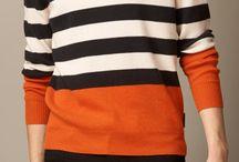 stripes color blocking