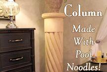 DIY Column Stand