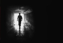 Into The Dark, my debut suspense novel. / A tormented woman must confront her haunted past in order to defeat the stalker determined to bury her in the dark depths of the notorious Las Vegas Tunnels.