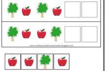 theme pomme / apple / maternelle