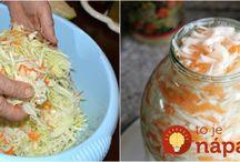zaváranie, zeleninové šaláty