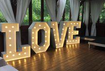 weeding decoration LOVE