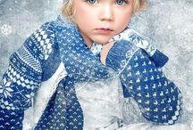 Дети зима