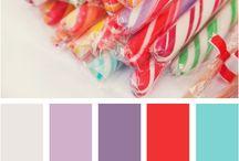 Color palette (farebné palety)