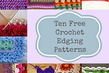 Crocheted Borders and Edgings / All about the Trim