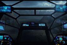 spaceship cocpit