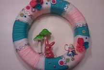 Alice In Wonderland - Decor / Alice In Wonderland decorating ideas for parties or home decor inspiration and DIY's.
