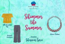 Mix & Match / Shimmer the Summer with latest jewellery trends !