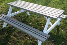 www.mrwoodproducts.nl / Solide picknicktafels, tuinbanken,tuinmeubels