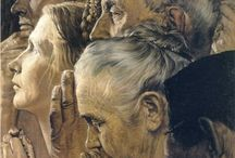 Norman Rockwell / by Konnie Evans