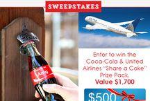 Coca-Cola #ShareaCokeSweepstakes / by Lisa Clark