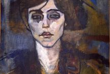 Rostros de Amedeo Modigliani