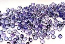 Tanzanite / Tanzanite is the blue/purple variety of the mineral zoisite (a calcium aluminium hydroxy silicate) which was discovered in the Mererani Hills of Northern Tanzania in 1967, near the city of Arusha and Mount Kilimanjaro.