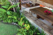 Casa de praia tropical