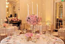 Pink Wedding Receptions